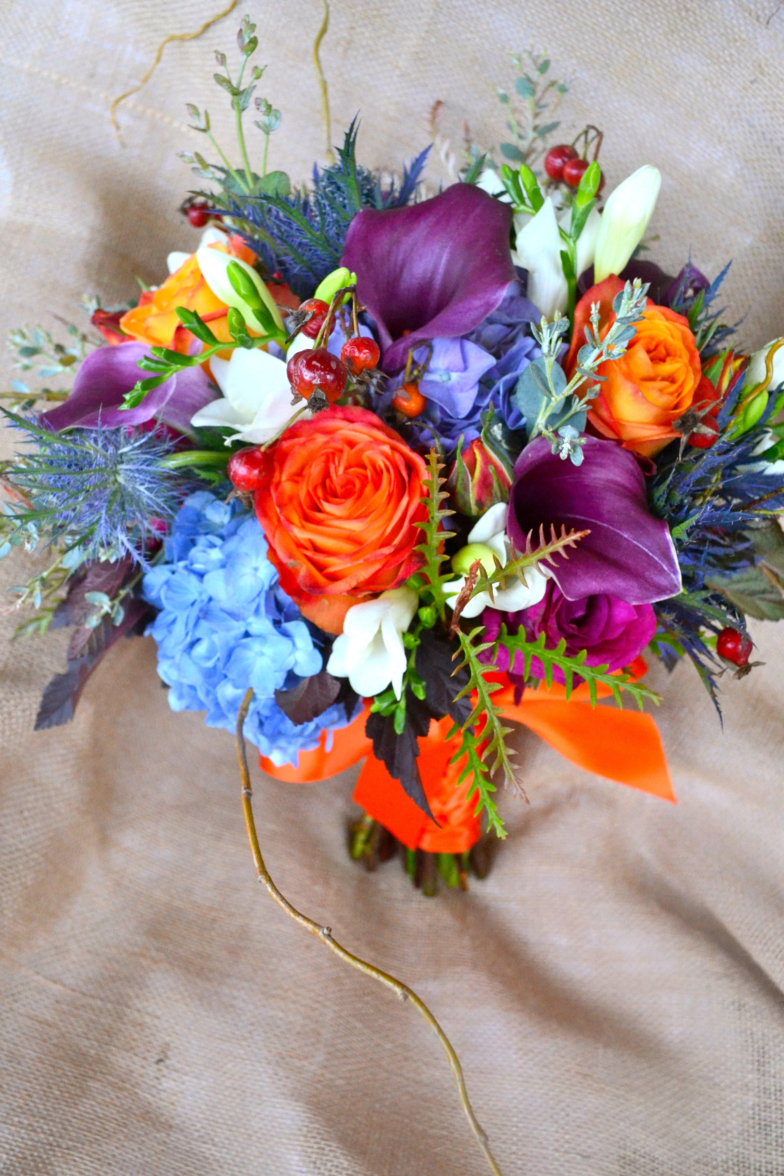 Purple Flowers For October Wedding : October wedding althauser design